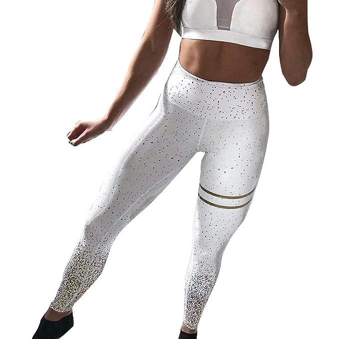 cinnamou Pantalon Yoga Mujer, Leggings Puntos Fitness ...