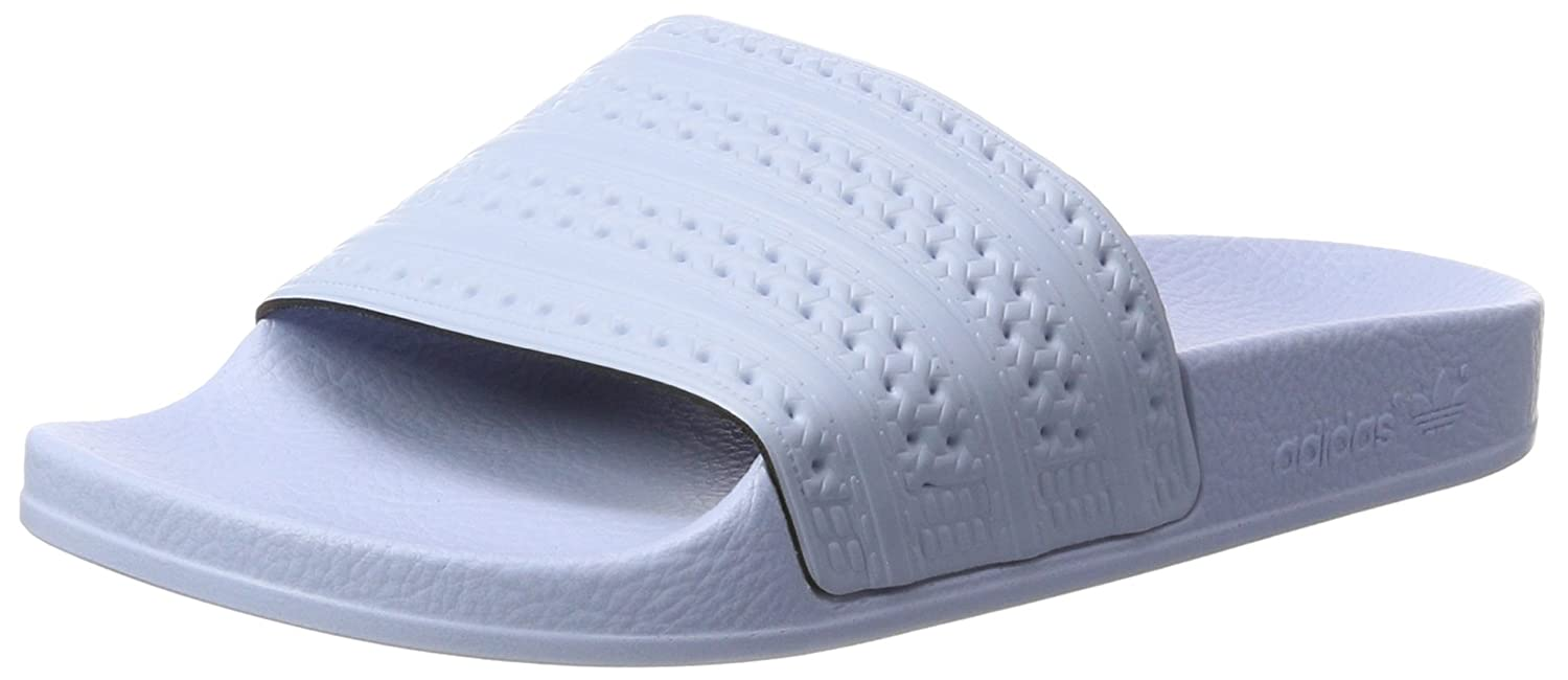 da8db9f0bc29 Amazon.com  adidas Adilette Unisex Slide Pastel Blue - 4 UK  Clothing