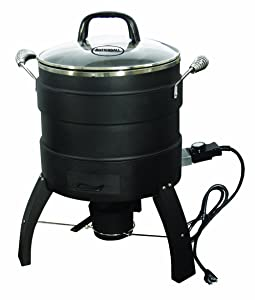 Masterbuilt Outdoor Butterball Oil Free Electric 18 Lb Turkey Roaster and Fryer