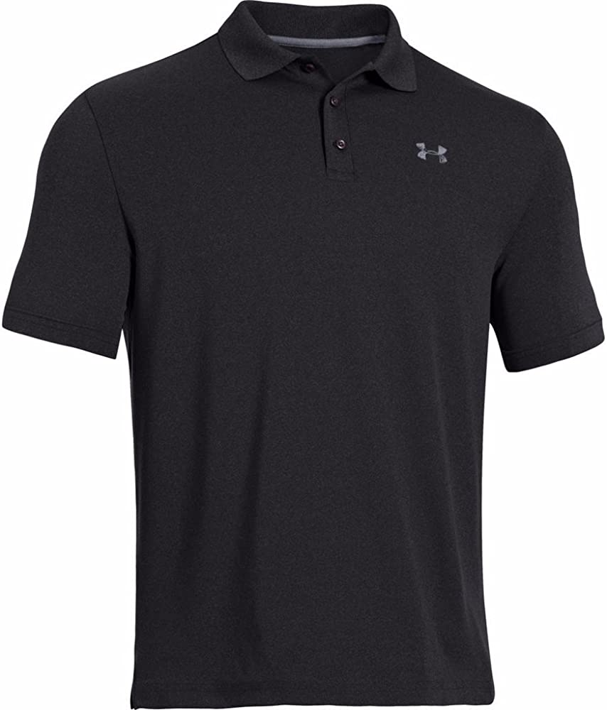 Under Armour Men UA Golf Performance Logo Polo T-Shirt: Amazon.es ...