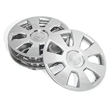 Skoda 6 V0071454 Hub Caps 14 Inches Lucida 4x Wheel trims: Amazon.co.uk: Car & Motorbike
