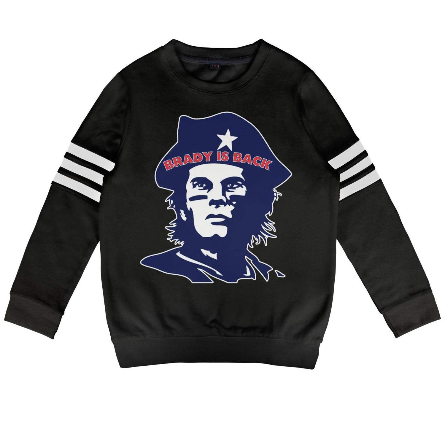 Pullover for Boys and Girls Football MVP Tom Goat 12 Crewneck Cotton Long Sleeve Toddler