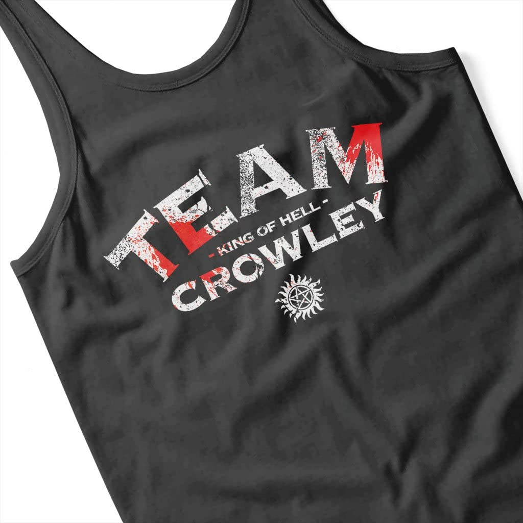 Supernatural Team Crowley Womens Vest