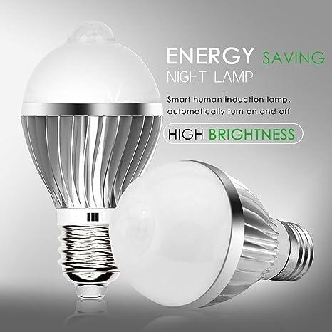 costar-t7-series Sensor Bombilla LED Bulb lámpara bombilla de bajo consumo Luz nocturna