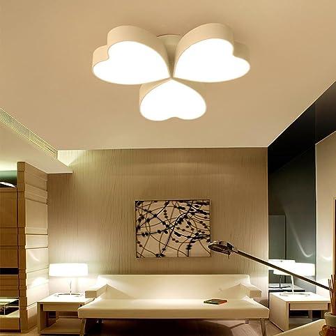 warm romantisch led deckenleuchten fr schlafzimmer hochzeitsraum wohnzimmer halle decke helles licht modern kreativ herzfrmig - Romantische Schlafzimmer Beleuchtung
