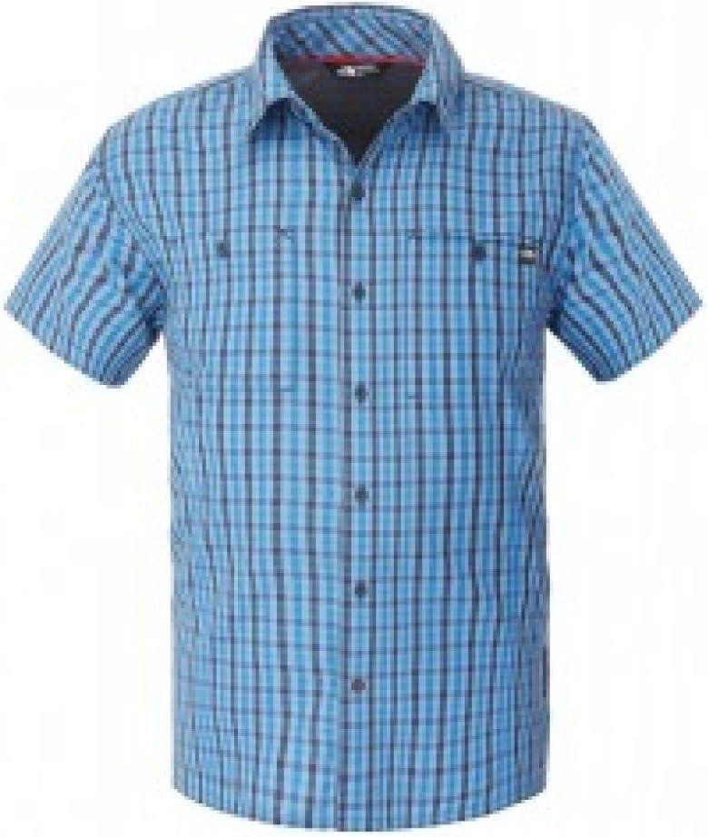 North Face Camisa Hombre Gilgit Manga Corta Camisas M/M Trekking t0 a3s5 Z9 F, Medium: Amazon.es: Deportes y aire libre