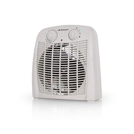 Orbegozo FH 7000 – Calefactor baño con 2 niveles de calor y modo ventilador de aire