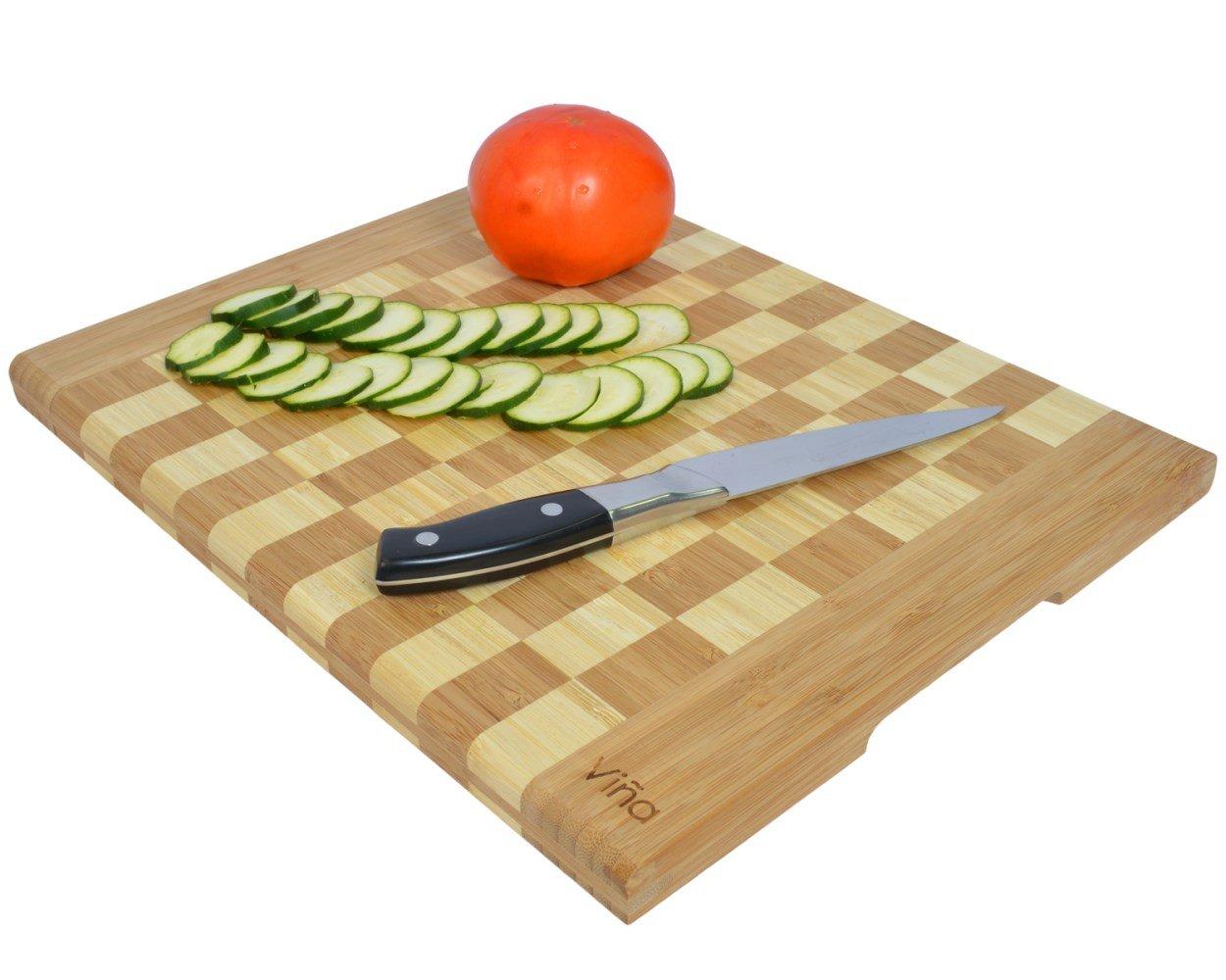Vina Large Bamboo Cutting Board, 14\