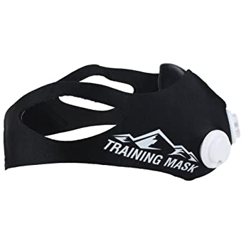 Training Mask Elevation 2.0 - Máscara para entrenamiento negro negro Talla:120kg-150kg
