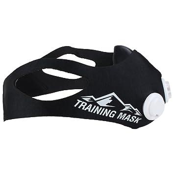 Training Mask Elevation 2.0 - Máscara para entrenamiento negro negro Talla:120kg-150kg