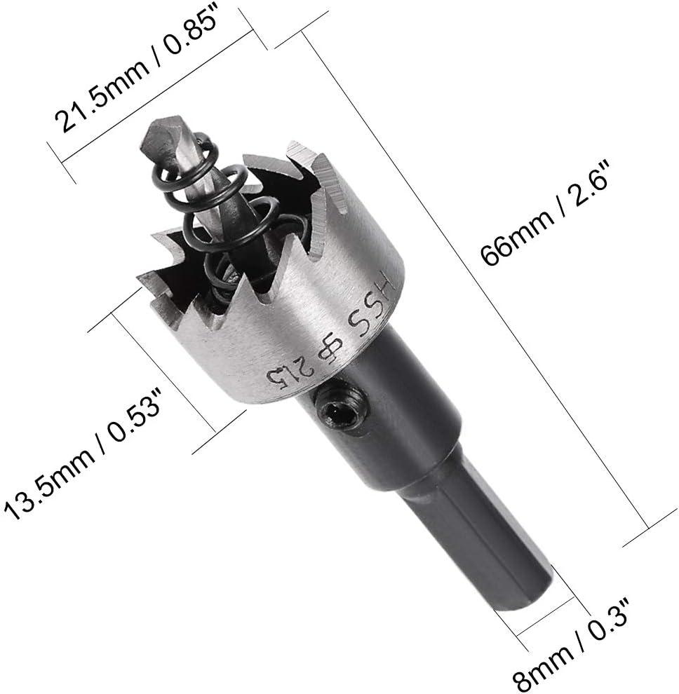 22.5mm Foret HSS scie trous faucheuse pour le bois dalliage m/étallique
