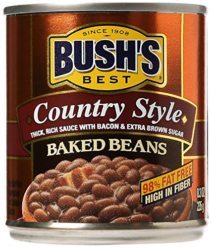 Bush's Best Baked Beans, Country Style, 8.30 oz