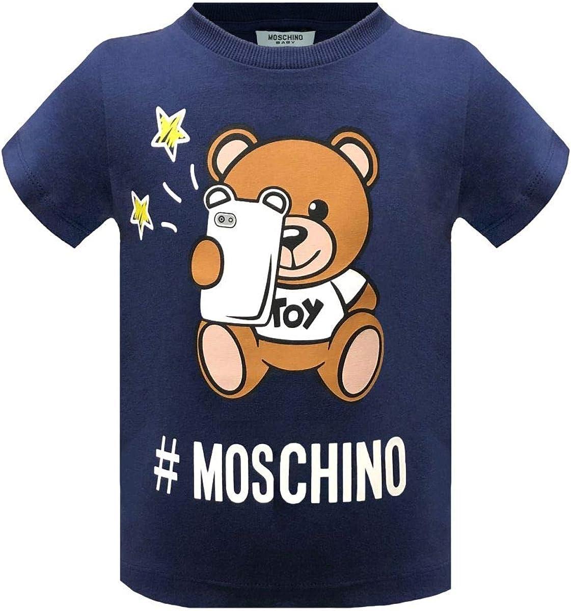 Moschino T-Shirt da Bimbo//A in Cotone