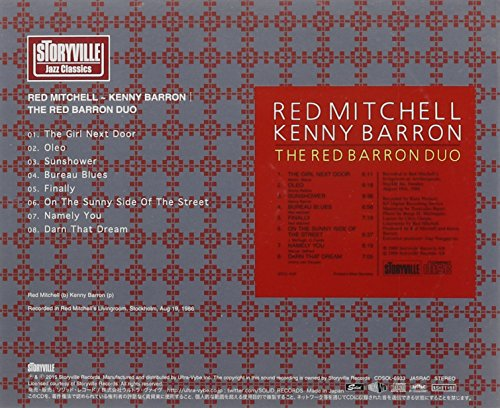 Buy red mitchell kenny barron