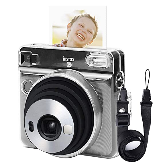 2116321fa2a0 Image Unavailable. Image not available for. Color  Katia Camera Case  compatible for Fujifilm Instax Square SQ6 - Instant Film Camera with  Shoulder Strap