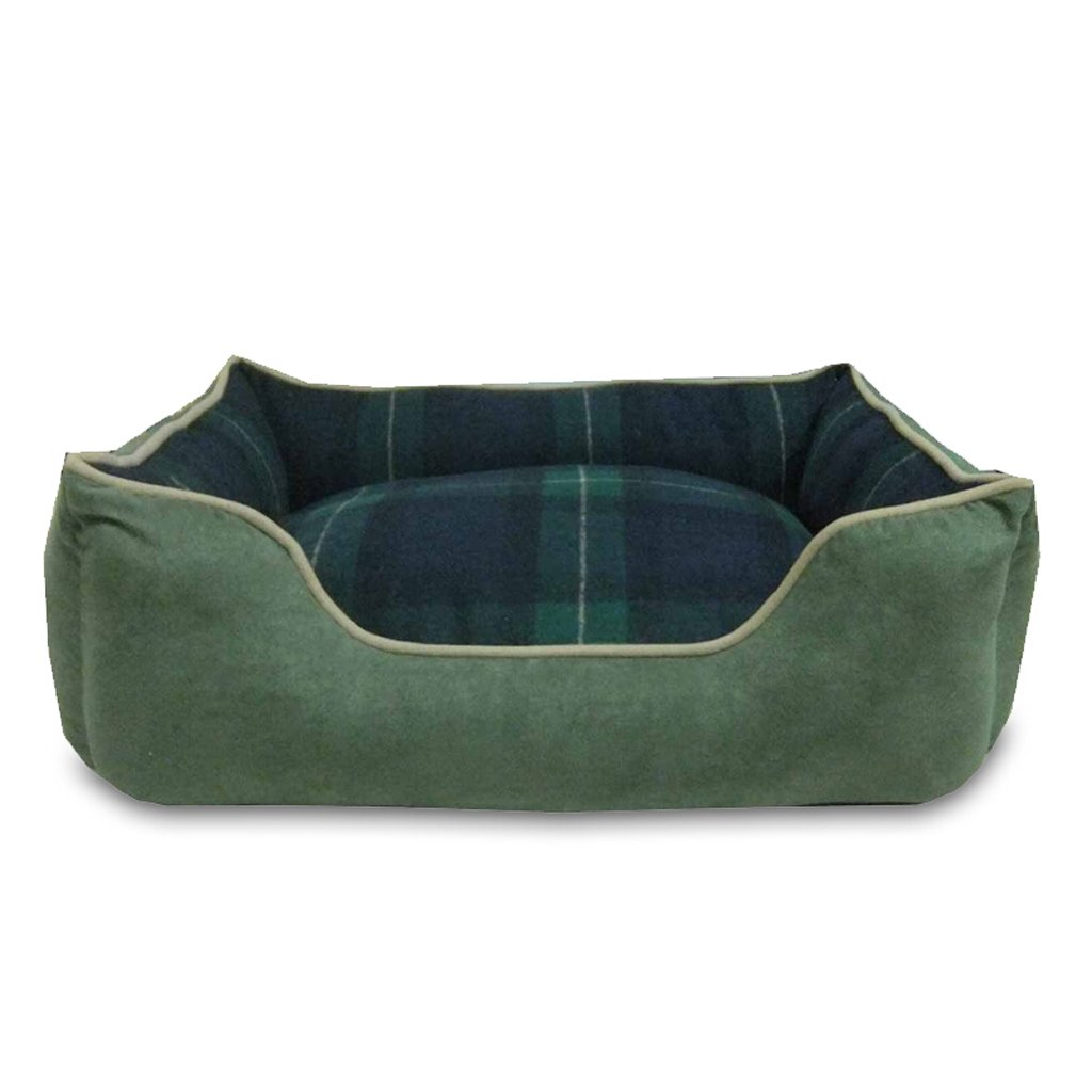 Green 705023CM Green 705023CM GXY Removable And Washable Autumn And Winter Warm Kennel VIP Teddy Schnauzer Barco Cork Satsu Small And Medium Dog Cat Litter Pet Waterloo (color   GREEN, Size   70  50  23CM)