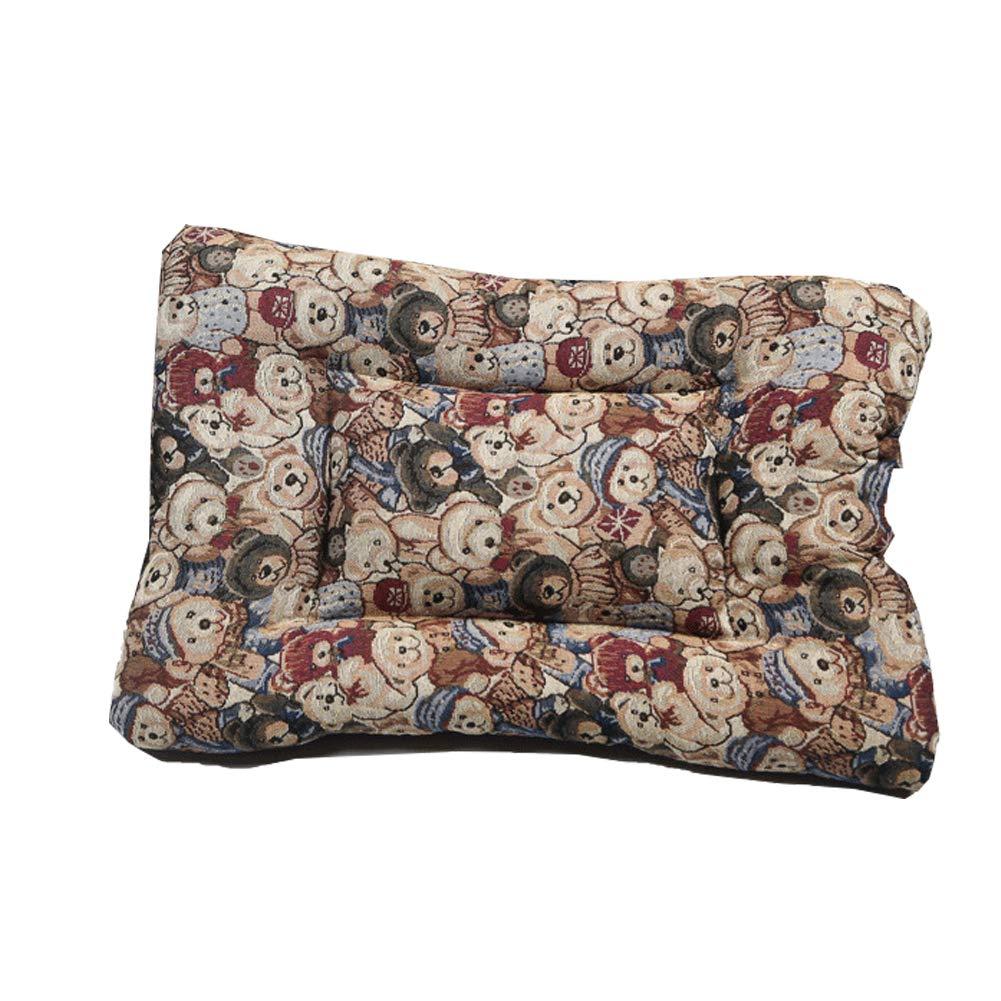 Superior Pet Beds Bear Pattern, Rectangular Non-Woven Fabric Cushion Pads