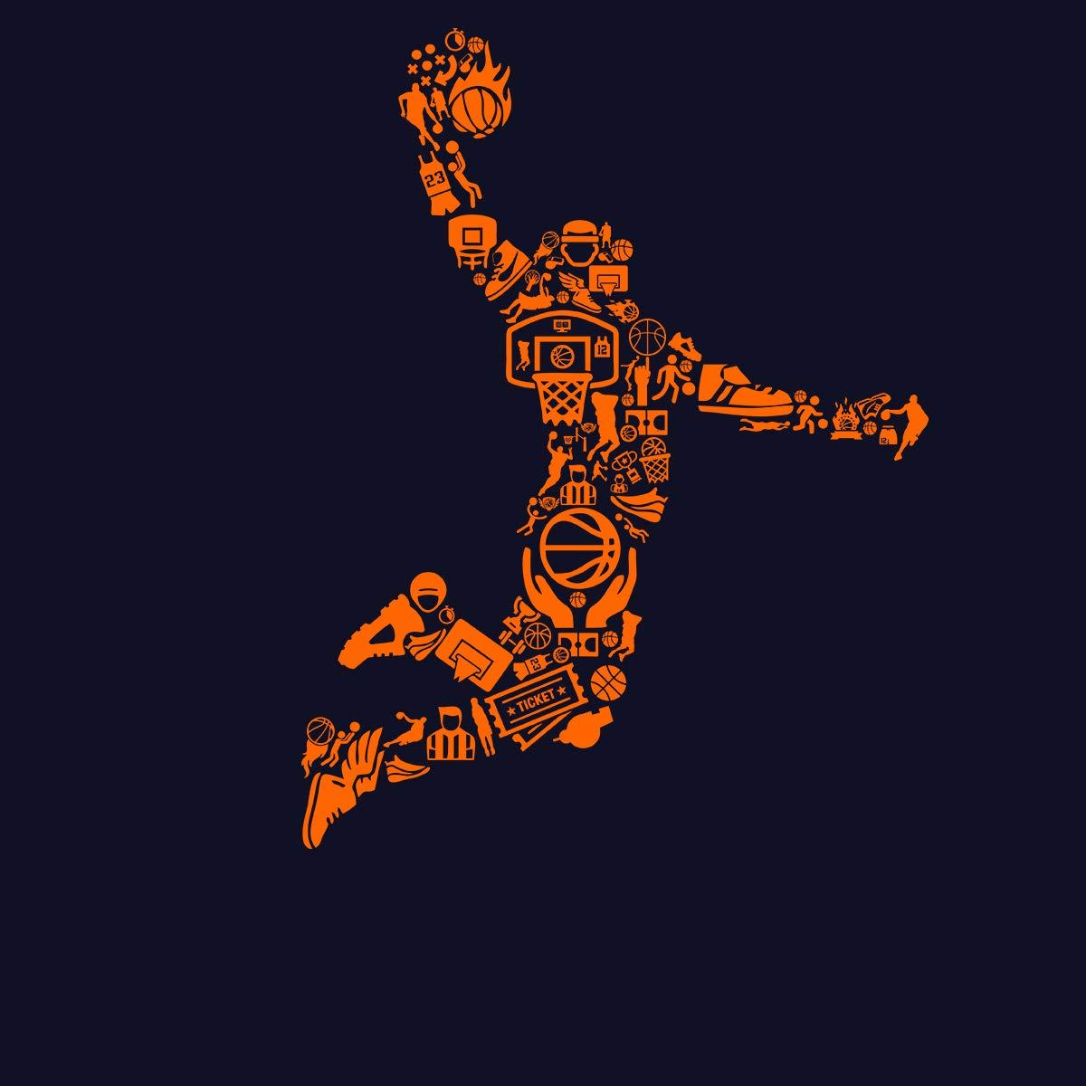 AvocadoWear Slam Dunk Basketball Mens T-Shirt XS-5XL