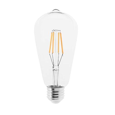IKEA LUNNOM - Bombilla LED de filamento (E27, 400 lúmenes, 2200 K,