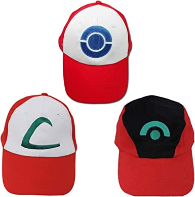 Pokemon Ash Ketchum Gorra para disfraz Cosplay: Amazon.es: Ropa y ...