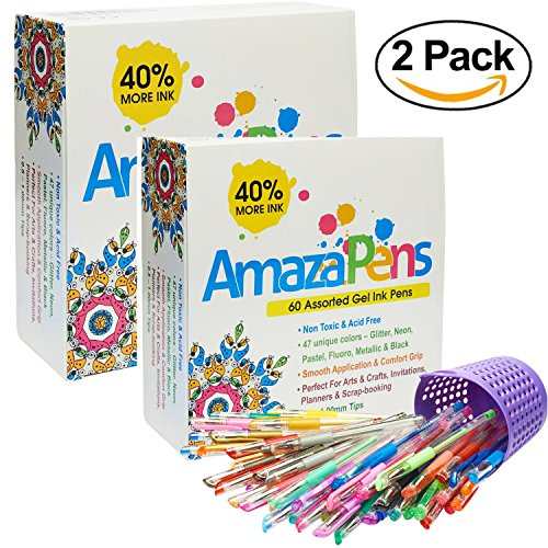 Gel Pens Adult Coloring Books product image