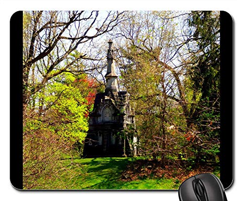 Mouse Pad - Cemetery Graveyard Grave Halloween Scary Death
