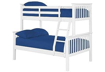 Furniture Expressions Gfw Novaro White Trio Bunk Bed Amazon Co Uk