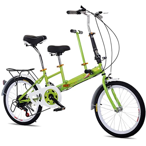 Bicicletta Pieghevole Da 20 Bici Piegante Della Bicicletta Verde