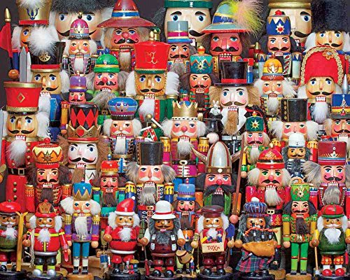 Heirloom Nutcracker - Springbok Puzzles - Nutcracker Collection - 1000 Piece Jigsaw Puzzle - Large 24 Inches by 30 Inches Puzzle - Made in USA - Unique Cut Interlocking Pieces