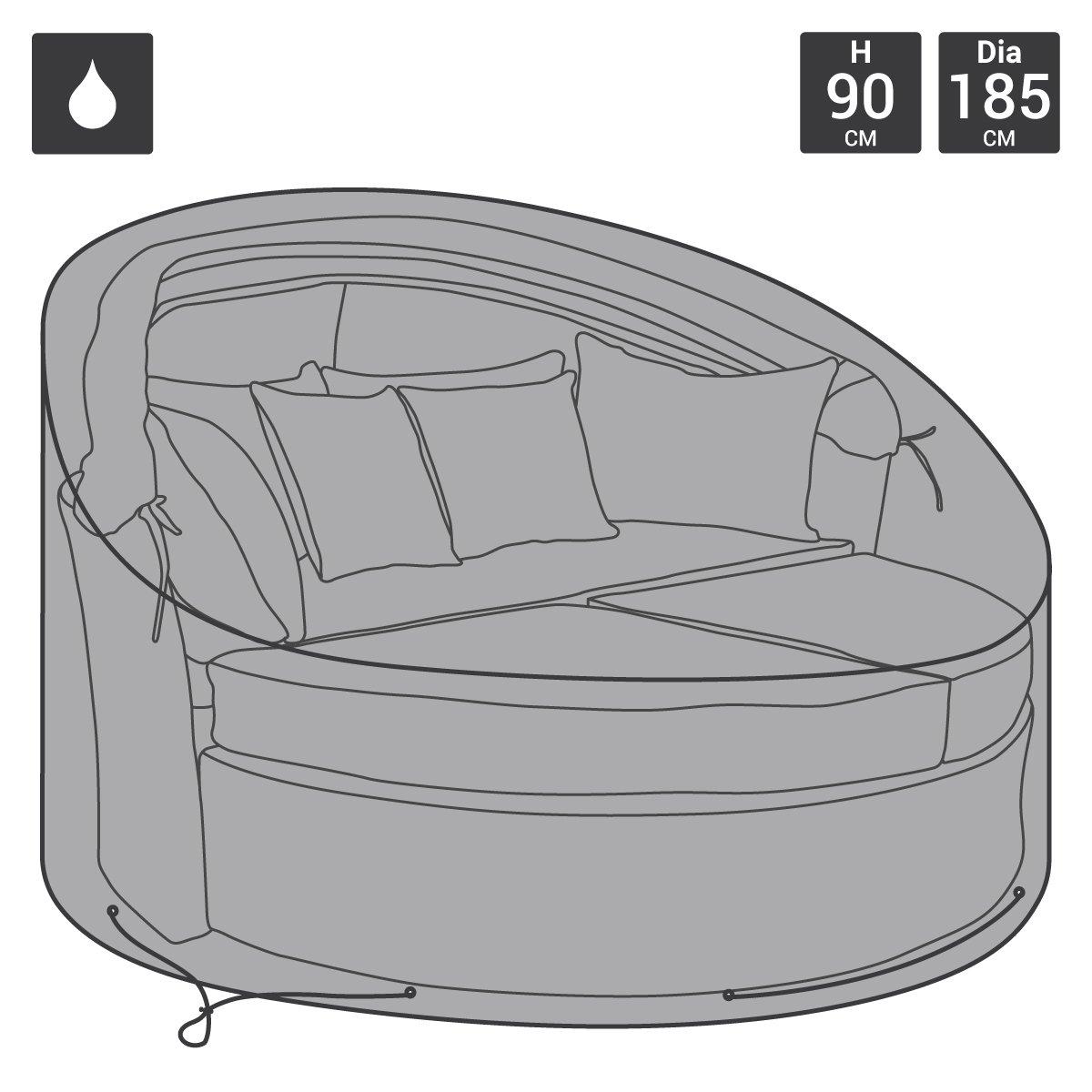 Bentley - Telo di protezione deluxe per letto in rattan da esterni Charles Bentley