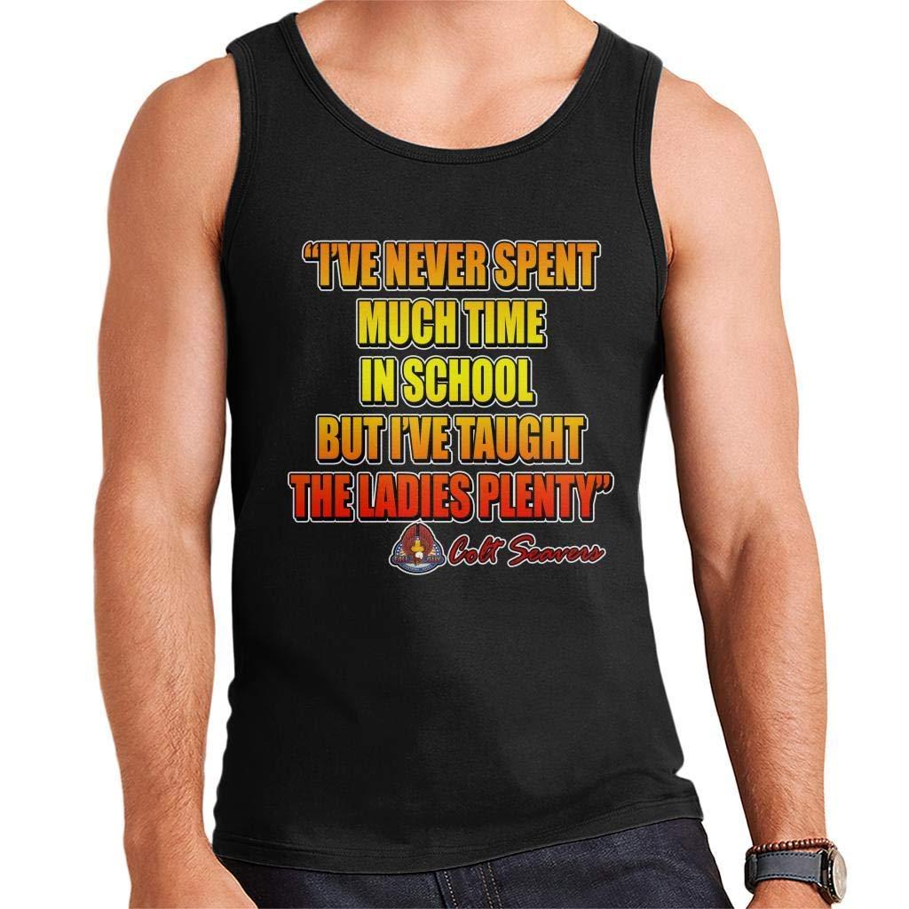 GOERTPO The Fall Guy Quote Mens Vest