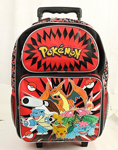Friends Rolling Backpack (New Arrival Nintendo Pokemon Pikachu & Friends 16