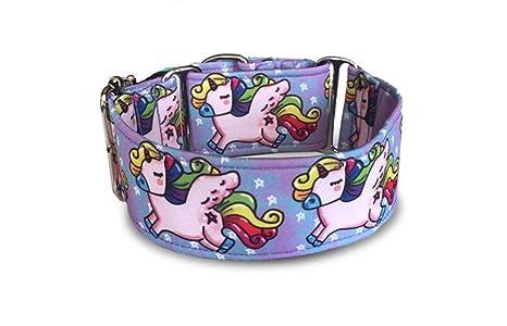 Galguita Amelie - Collar martingale antiescape para perros de todo tipo de raza - 5cm de Ancho TALLA ...