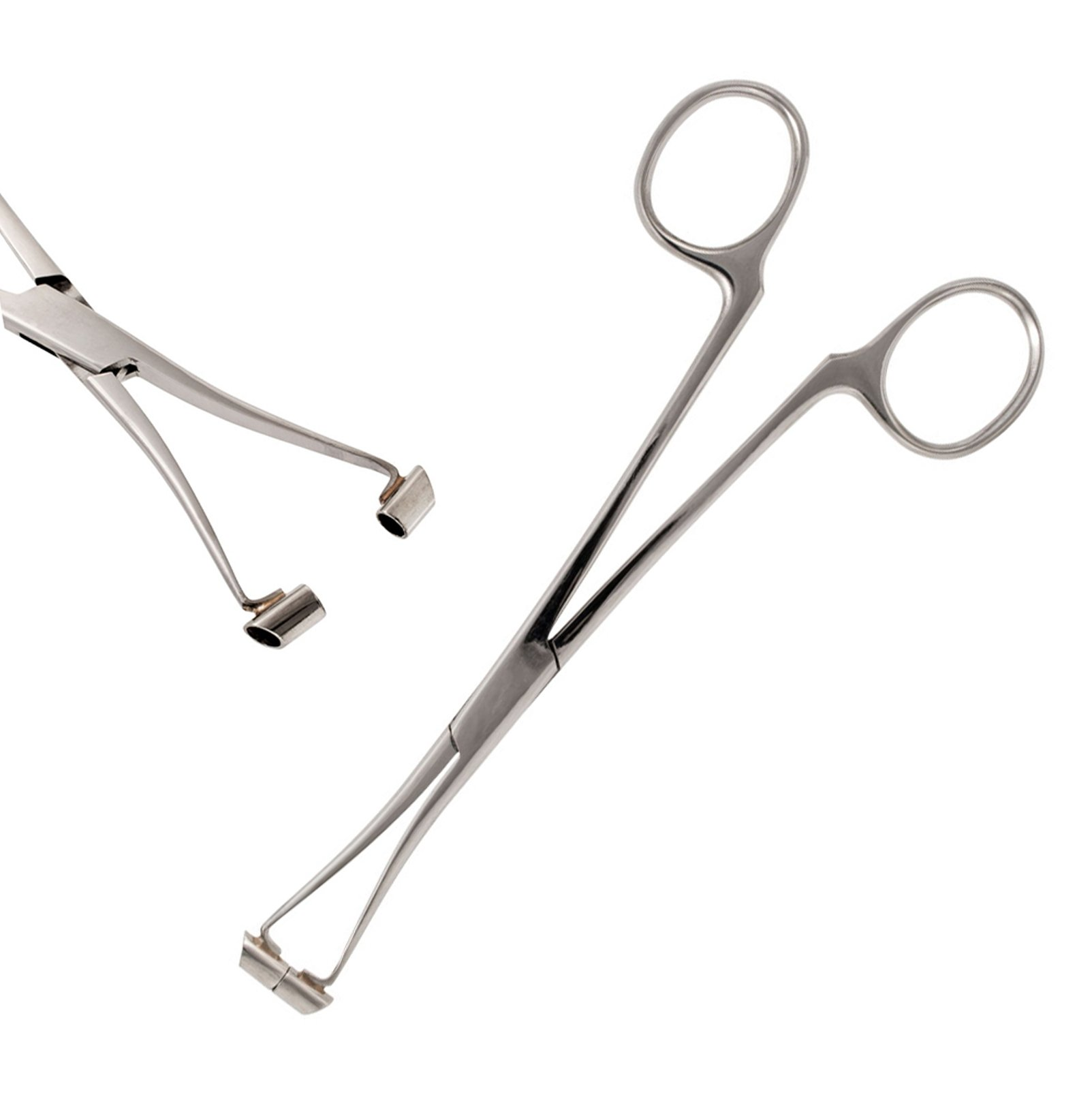 Surgical Steel Septum Nose Pierce Forcep Piercing Clamps