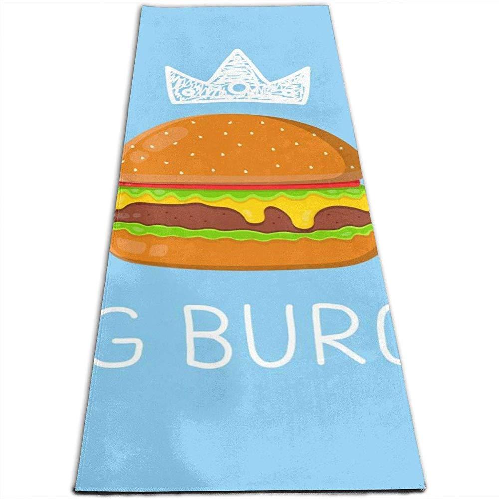 Ogden Estera de Yoga con Mesh Bag King Burger Concept Vector ...