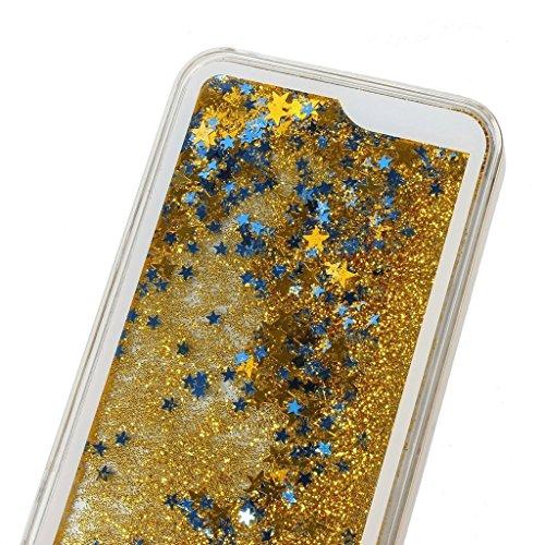 """Yaobai-2015 New Iphone 6 4.7"""" Case Coque Housse Etui Transparent Clair Cristal dur plastique Cover ¨¦tui de protection Liquide se ¨¦coulant Bling Glitter Sparkles pour Iphone 6 4.7"""""""