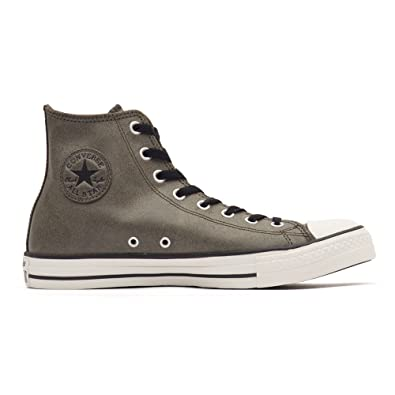 cd128834b096 Converse Men's Chuck Taylor All Star Homme Vintage Leather Hi Gymnastics  Shoes