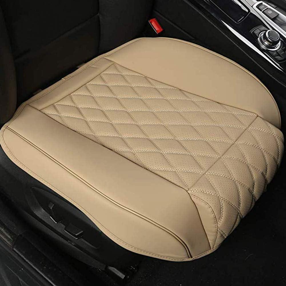 """W20.86*D20.86/"""" 2 St/ück,Grau BLACK PANTHER PU Auto Sitzbez/üge,Beinst/ütze Design Universal Sitzbezug Auto Vordersitze,Anti-Rutsch /& Full Wrapping Edge,Einzelsitz ohne R/ückenlehne"""