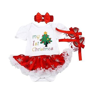 Amazon.com: My First - Disfraz de reno de Navidad para bebé ...