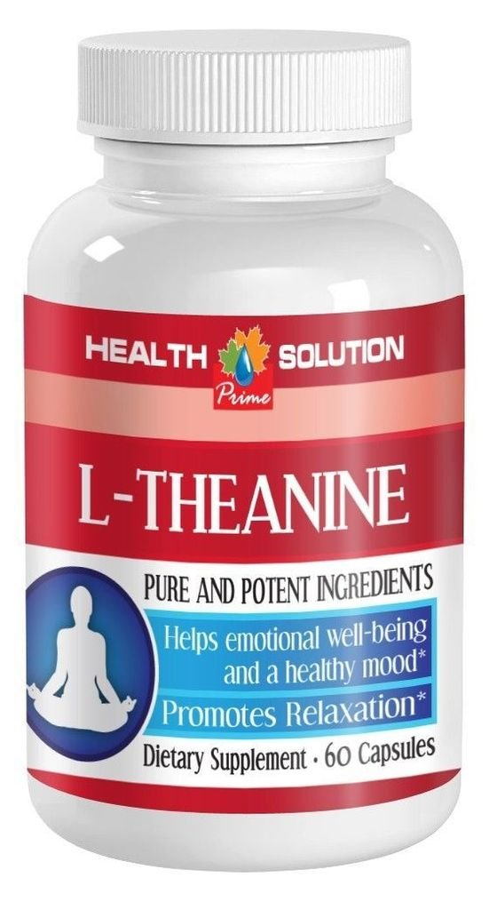 L-Theanine. Promotes Relaxation, Emotional Well-Being, Healthy Mood 2 Bott.
