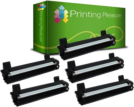 5 Compatibles TN1050 Cartuchos de tóner para Brother DCP-1510, DCP ...