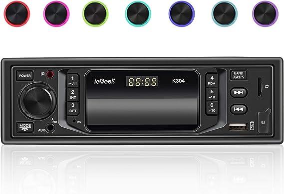 Iegeek Autoradio Bluetooth Freisprecheinrichtung 7 Elektronik