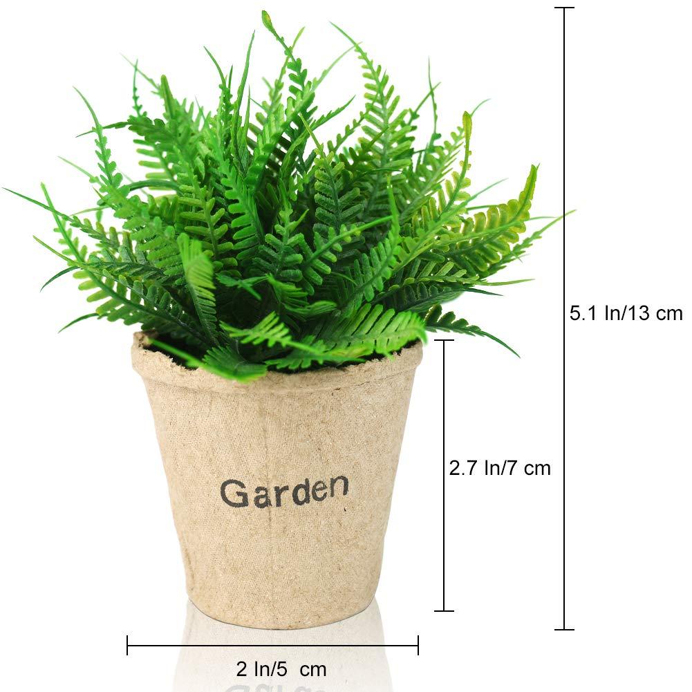 Mini Plante Artificielle, Plante En Pot, Décoration De La Maison, Chambre à  Coucher