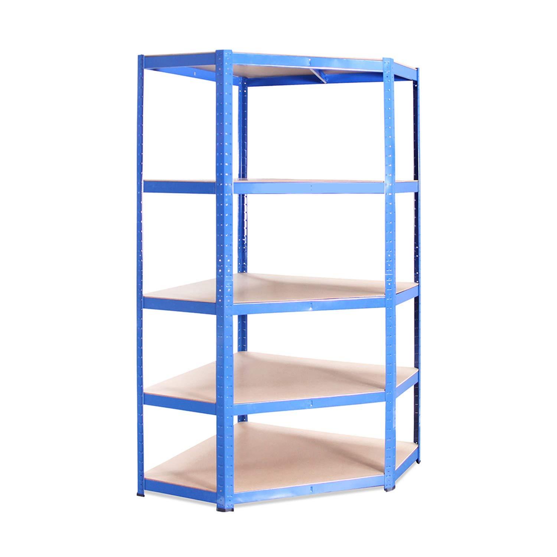 /Étag/ère dangle bleue 180 x 90 x 40 cm.