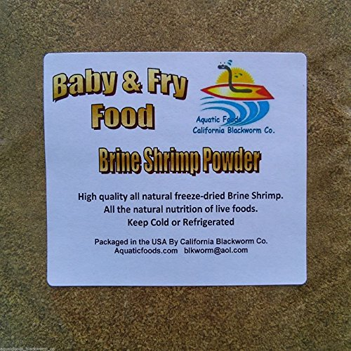 AFB Brine Shrimp Powder Fry & Baby - Freeze Dried Baby Shrimp