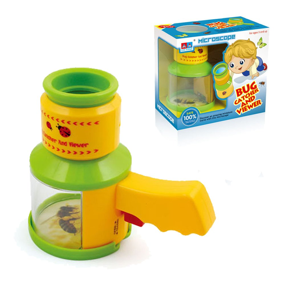 Bug Toys For Boys : Kidcia microscopes for kids bug catcher and viewer
