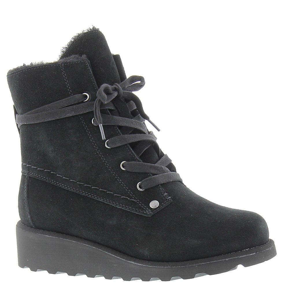 BEARPAW Women's Krista Boot Black II Size 6 B(M) US