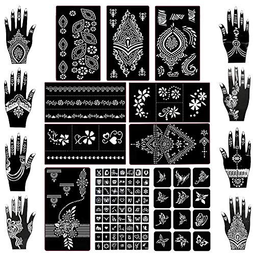 Really Great Set of Tattoo Stencil Stickers!
