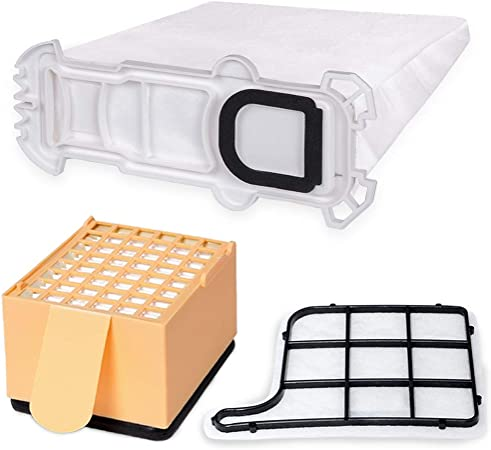 30 Bolsas de tela bolsas Aspiradora para Vorwerk Kobold 135 136 filtro: Amazon.es: Hogar