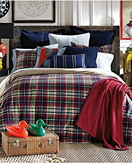 tommy hilfiger middlebury plaid comforter set twin
